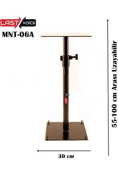 Lastvoice Mnt 06A Stüdyo Referans Monitör Standı 55-100 Cm Yükseklik Ayarlı