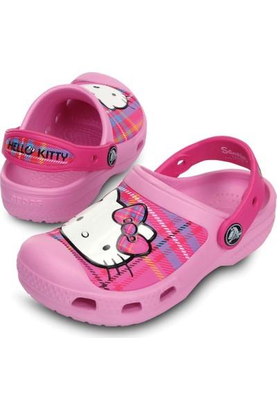 Crocs Creative Hello Kitty Plaid Clog