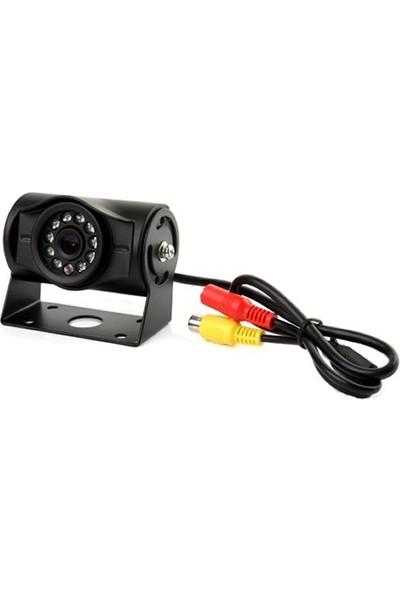 Opax 6406 700 TVL 120 Derece 10 IR Led Gece Görüşlü Araç Kamerası Rca Video