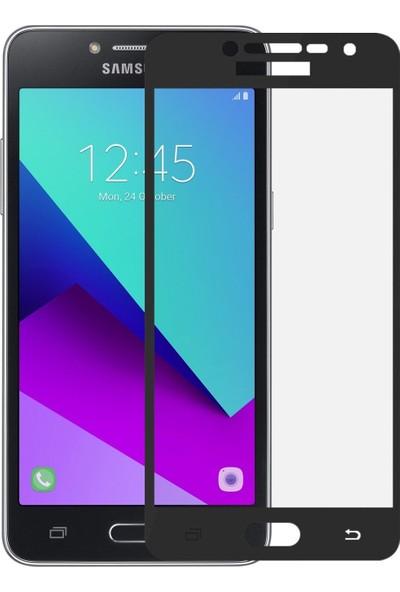 Teleplus Samsung Galaxy J2 Prime Tam Kapatan Cam Ekran Koruyucu Siyah