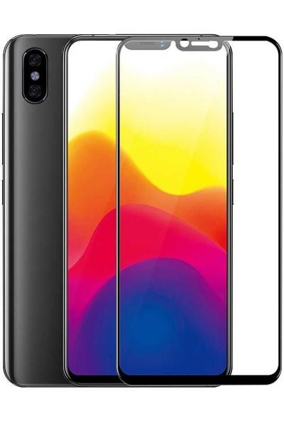 Teleplus Xiaomi Mi 8 Tam Kapatan Cam Ekran Koruyucu Siyah
