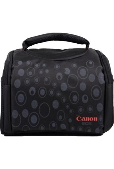 Canon Dslr Fotoğraf Makinesi Kare Çanta