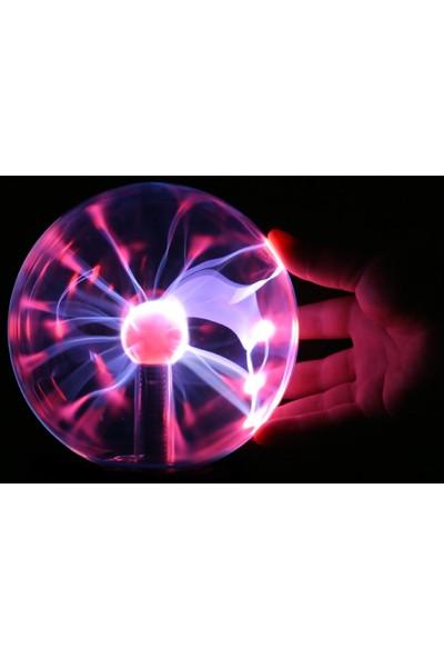 Practika Plasma Storm Lamp - Müzikli Işıklı Plazma Küre Sihirli Cadı Küresi Plazma Küre Gece Lamba