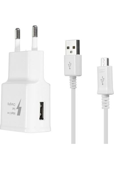 BN Samsung Hızlı Micro USB Şarj Aleti 1.2 m Kablo + Adaptör Set