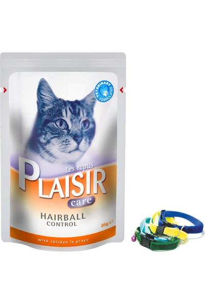 Plaisir Hairball Tüy Yumağı Oluşumu Azaltıcı Tavuklu Kedi Maması 48x85 Gr