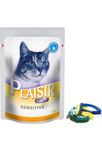 Plaisir Sensitive Prebiyotikli İshal Problemli Kedi Maması 85 Gr