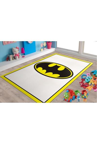 Veronya Batman Desenli Kaymaz Taban Halı 100x200