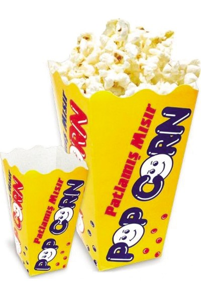 Ozii Popcorn Kutusu Küçük Boy 100 Adet