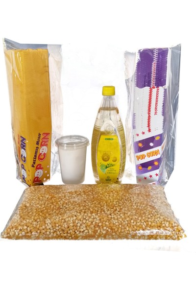 Ozii Popcorn İş Paketi