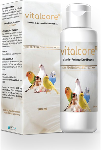 Vitalcore Vitamin + Aminoacid Combination 250 Ml