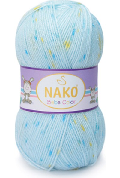 Nako Baby Color 31744 Örgü İpi