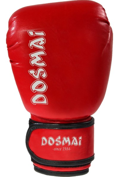 Do-Smai Boks & Kıck Boxıng Eldiveni EL-340 12 oz Kırmızı