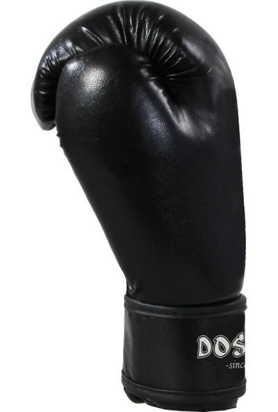 Do-Smai Boks & Kıck Boxıng Eldiveni EL-340 6 oz Siyah