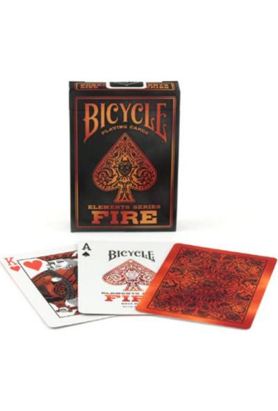 Bıcycle Elements Fire Poker İskambil Oyun Kartı Kağıdı Destesi Koleksiyonluk