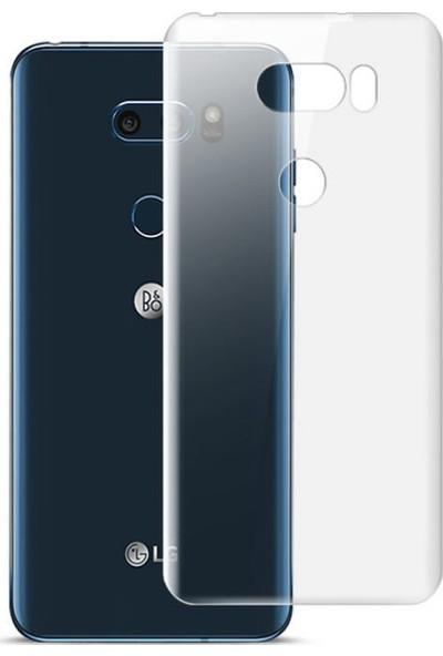 Case 4U LG V30 - V30 Plus Kılıf Süper Silikon Şeffaf Arka Kapak