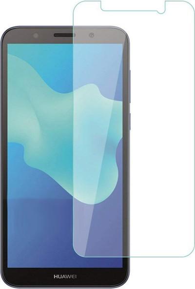Case 4U Huawei Y5 2018 Cam Ekran Koruyucu - Blue Nano