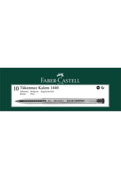 Faber-Castell 1440 Tükenmez 0.8mm 10'lu Mavi