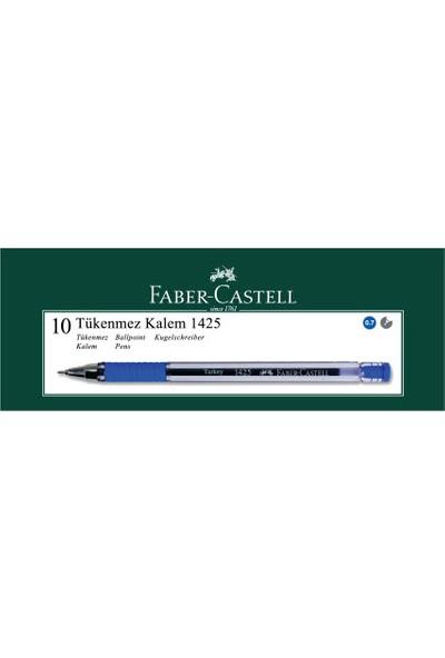 Faber-Castell 1425 0,7 Mm İğne Uç Tükenmez Mavi 10'lu Kutu