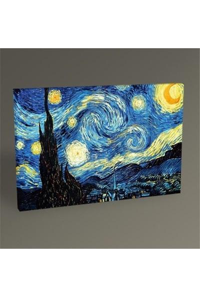 Vincent Van Gogh-Yıldızlı Gece Tablo 50*70
