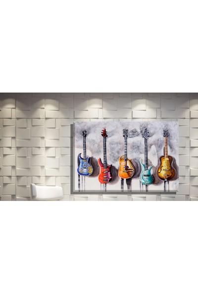 Pia Hediyelik Kanvas Tablo Gitarlar