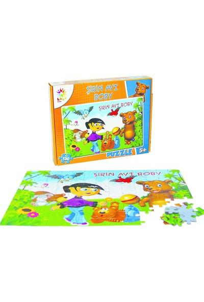 Laço Kids Sevimli Ayı Boby 130 Parça Puzzle