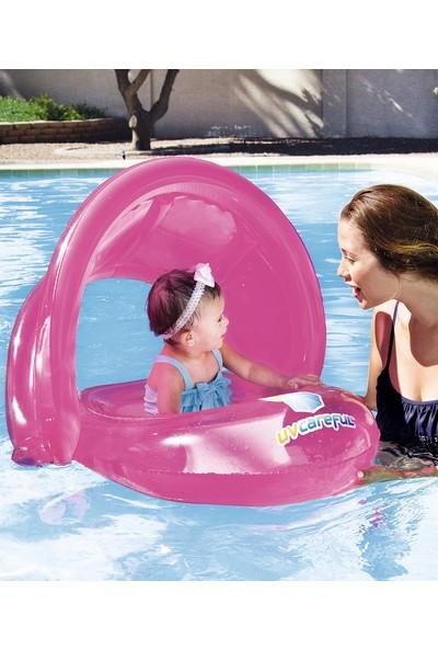 Bestway 80 * 85 Cm Gölgelikli Baby Float W34091 Mavi