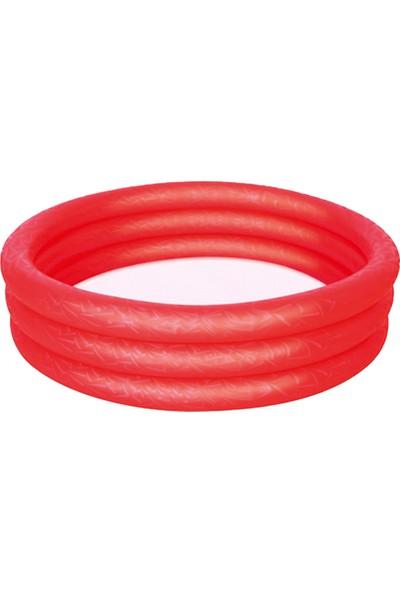 Bestway 122*25 3H Renkli Çocuk Havuzu W51025 Kırmızı