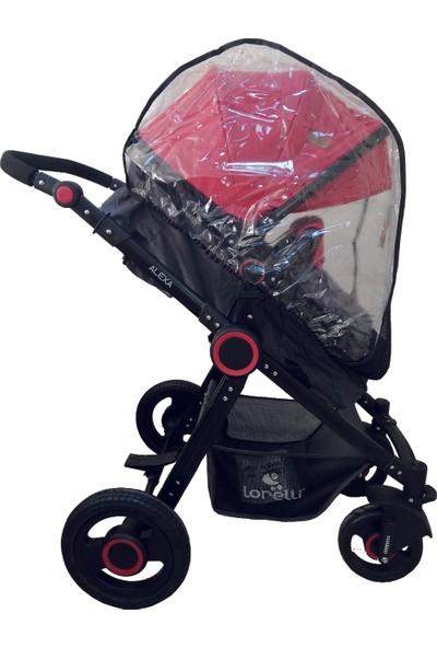 Novaçocuk Travel Sistem Bebek Arabası Yağmurluğu