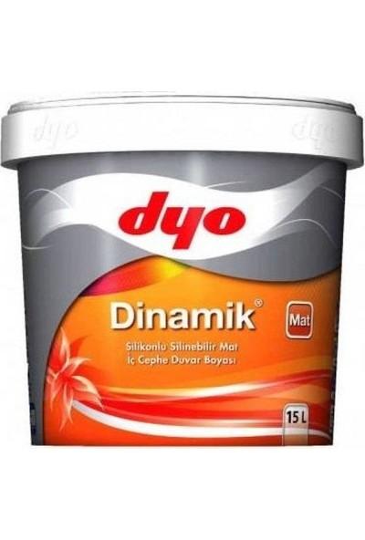 Dyo Dinamik Silikonlu Mat İç Cephe Boyası 15 Lt