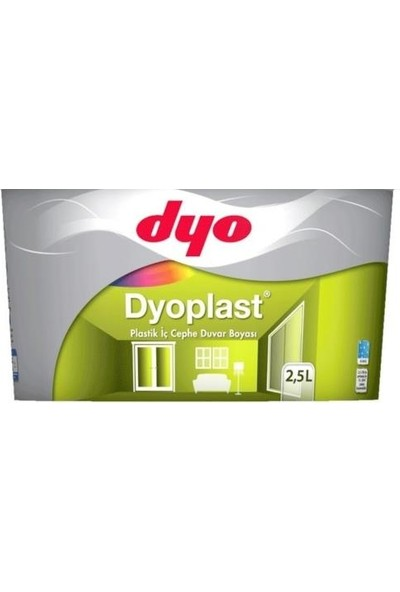 Dyo Dyoplast Plastik İç Cephe Boyası 2.5 Lt (3.5 Kg)