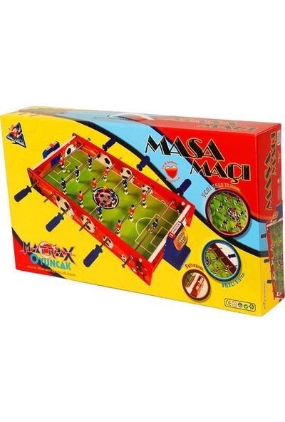 Matrax Oyuncak Ahşap Masa Maçı Oyunu (ORTA BOY)
