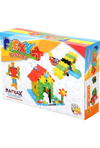 Matrax Oyuncak 88 Parça Flexy Tangles® - K. Kutuda