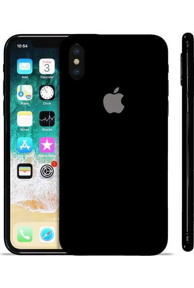 Grafityp Apple iPhone X Siyah Koruyucu Telefon Kaplaması