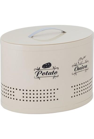 Bölmeli Patates & Soğanlık Krem (Galvaniz)