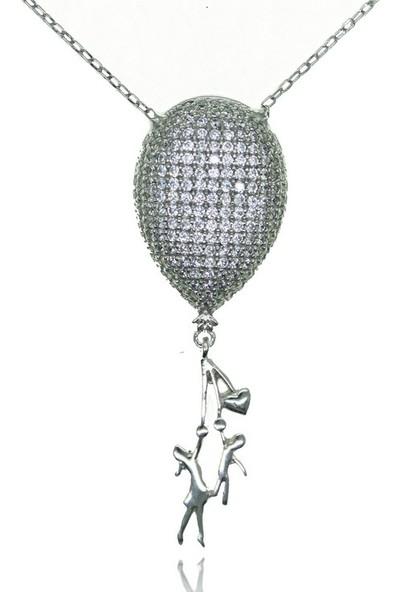 GriGümüş 925 Ayar Gümüş Kolye
