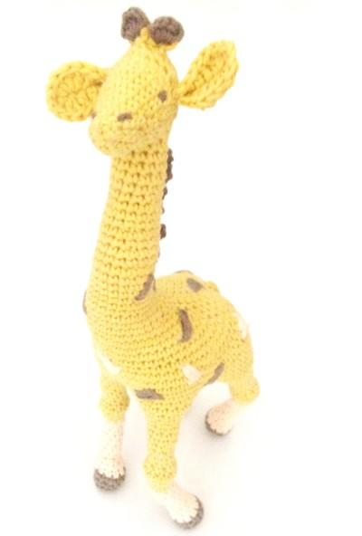 Pacco Baby Hardal Zürafa Uyku Ve Oyun Arkadaşı