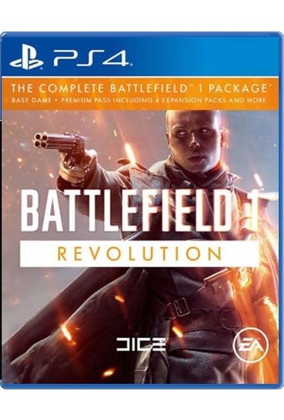 Electronic Arts Battlefield 1 Revolution Türkçe Metin Çevirisi Ps4 Oyun