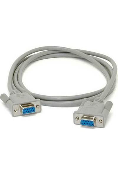 Ttaf 55054 RS232 9 Pin Dişi Dişi DB9 9-Pin Seri Com Kablo 2 m