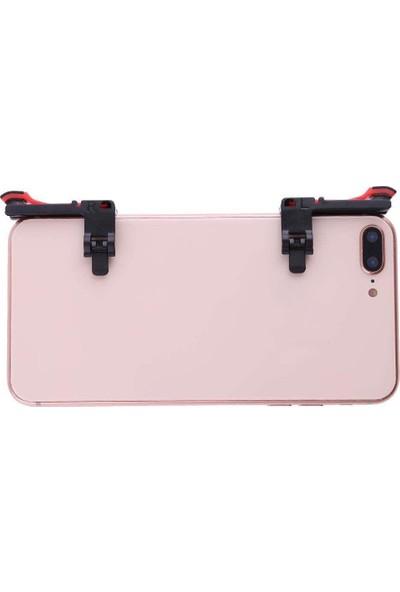 Smartsepet Tüm Telefonlar İçin Çift Oyun Adaptörü PubG Ateş Düğmesi M24 Şeffaf