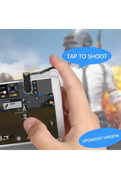 Smartsepet Tüm Telefonlar İçin Çift Oyun Adaptörü PubG Ateş Düğmesi L1R1W