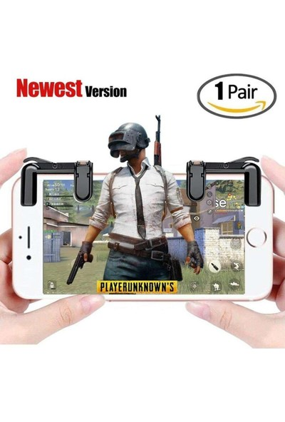 Smartsepet Tüm Telefonlar İçin Çift Oyun Adaptörü PubG Ateş Düğmesi L1R1B