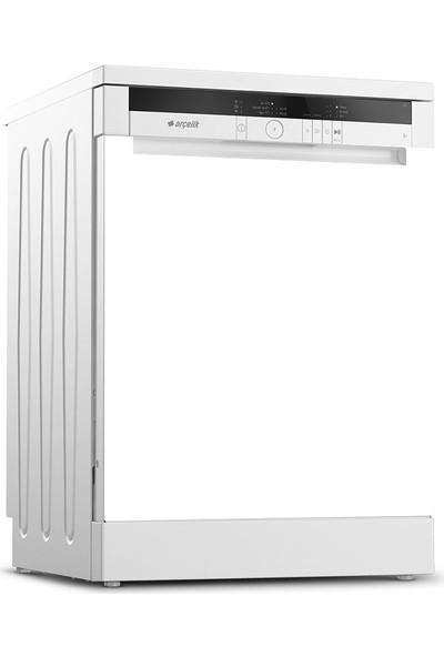 Tilki Dünyası Düz Parlak Beyaz Renk Bulaşık Makinesi Kapak Sticker 0065