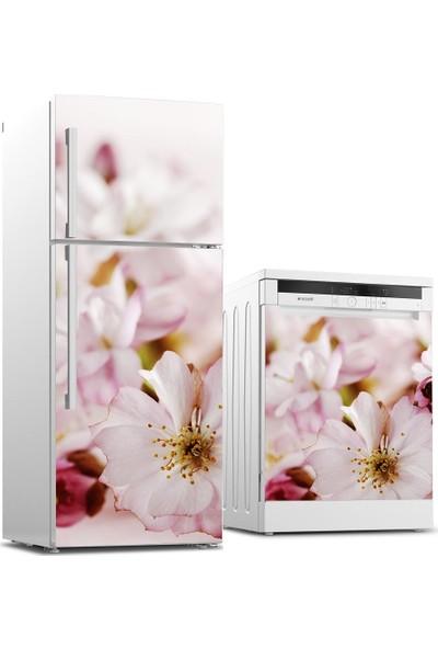 Tilki Dünyası Buzdolabı ve Bulaşık Makinesi Takım Sticker 0074