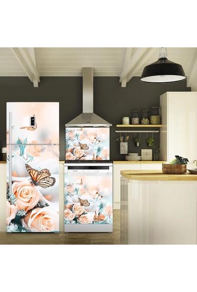 Tilki Dünyası Kelebeğin Rüyası Buzdolabı, Bulaşık Makinesi ve Ocak Arkası Yapışkanlı Folyo 0052