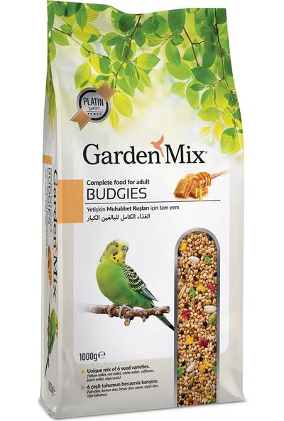Gardenmix Platin Ballı Yetişkin Muhabbet Kuşu Yemi 1 kg