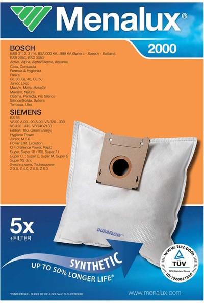 Menalux 2000 Bosch Siemens Profilo Megaflit Toz Torbası