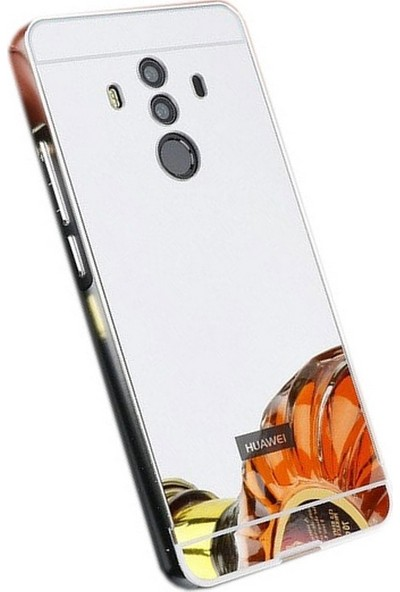 Sonmodashop Huawei Mate 10 Pro Metal Aynalı Kılıf