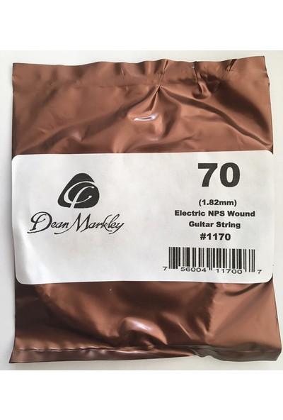 Dean Markley Wound Single 1171 - 070 Elektro Gitar Tek Tel (Sarımlı)