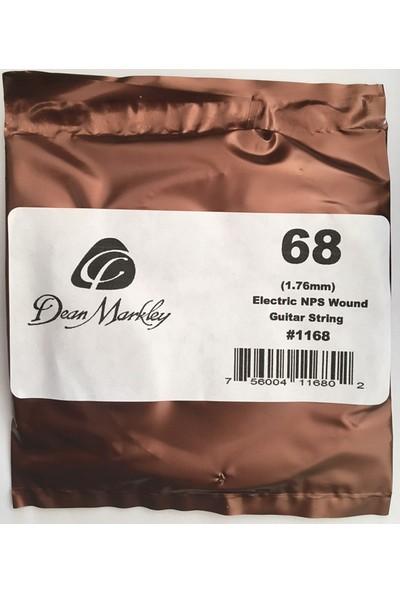 Dean Markley Wound Single 1168 - 068 Elektro Gitar Tek Tel (Sarımlı)