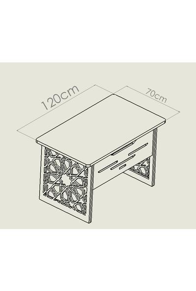 Mavera Osmanlı Motifli Çalışma ve Ofis Masası